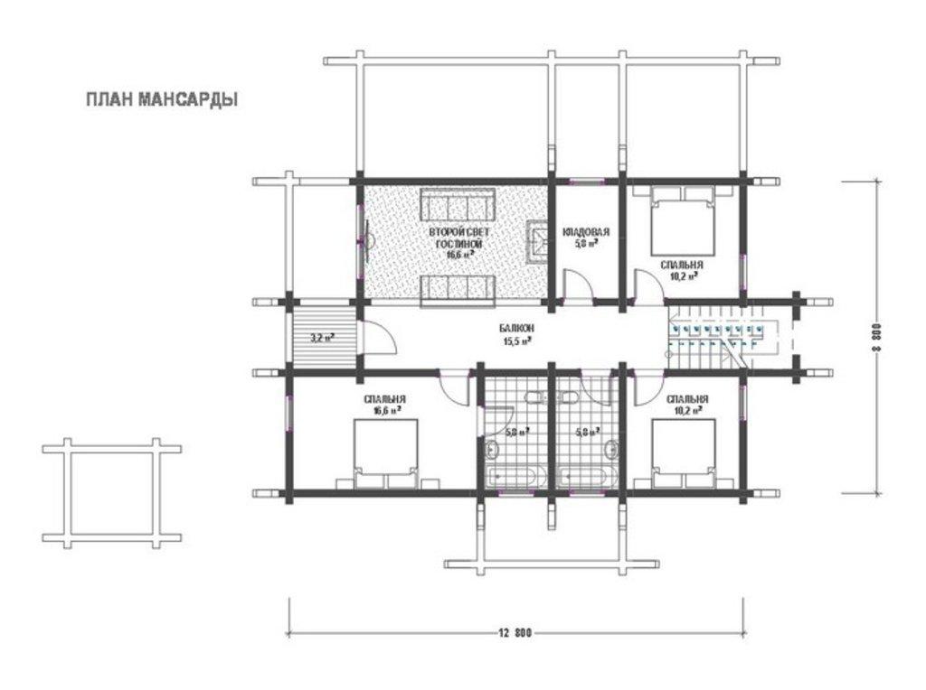 Разработка пректа: Эскизный проект дома в А-Строй