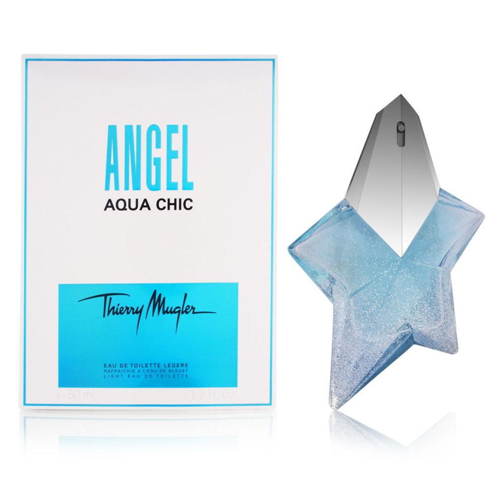 Женская туалетная вода Thierry Mugler: Thierry Mugler Angel Aqua Chic edt в Элит-парфюм