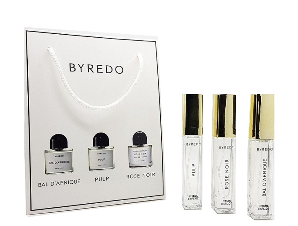 Byredo (Байредо): Парфюмерный набор Byredo  3 x 15 ml в Мой флакон