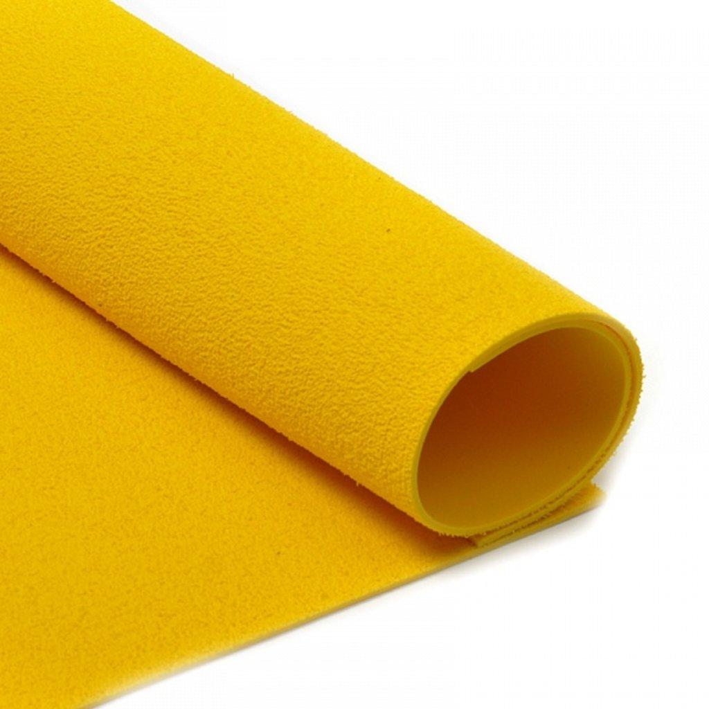 Фоамиран: Фоамиран махровый 2мм 20*30см жёлтый, 1 лист в Шедевр, художественный салон