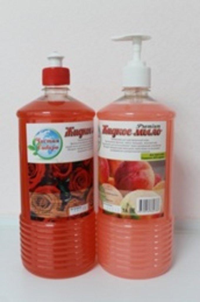 Жидкое мыло премиум класса: Зеленое яблоко 1 л (дозатор) в Чистая Сибирь