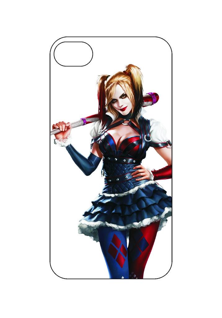 Выбери готовый дизайн для своей модели телефона: Girljoker в NeoPlastic