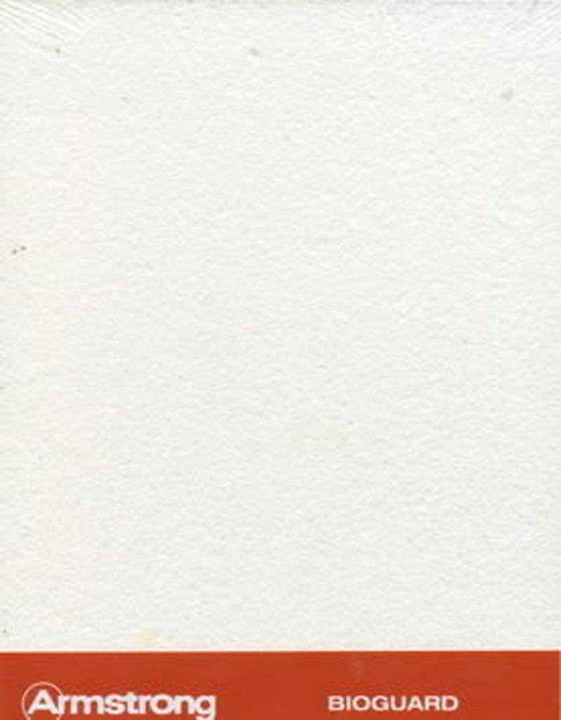 Потолки Армстронг (минеральное волокно): Потолочная плита BIOGUARD Plain tegular 600x600x15 (Биогуард Плейн тегулар) в Мир Потолков
