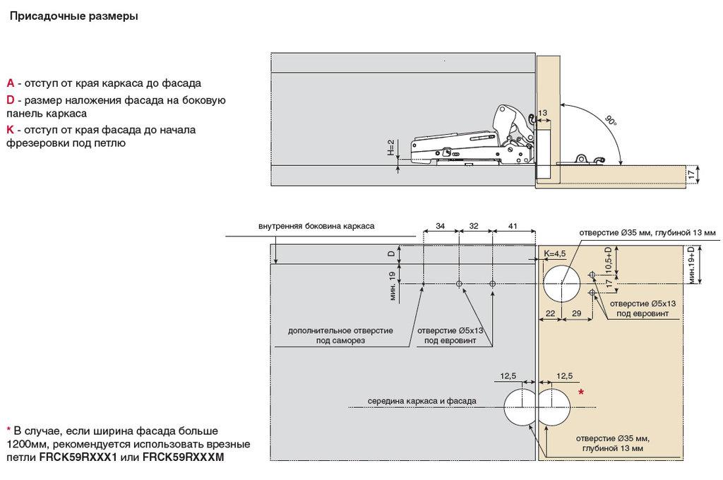 """Мебельная фурнитура """"НОВИНКИ"""": Подъемник для секретера PACTA I-Medium с доводчиком (комплект) в МебельСтрой"""