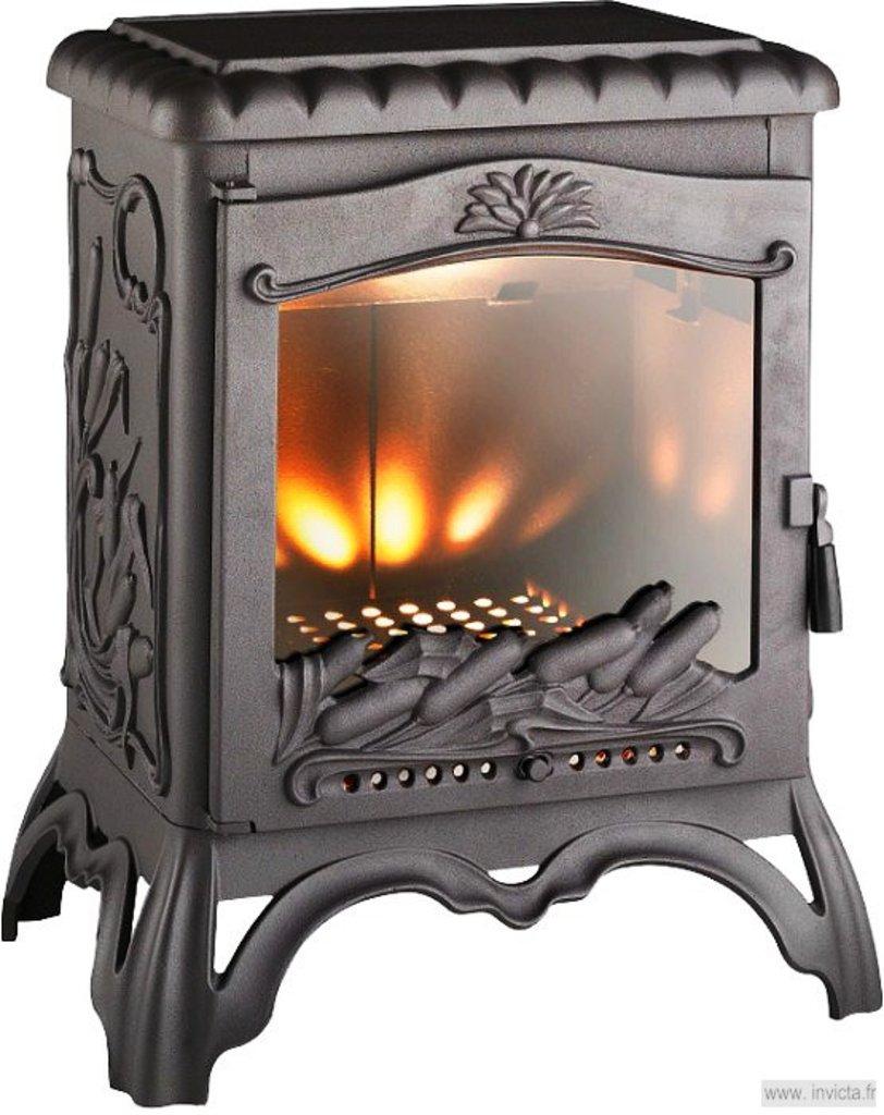Чугунные печи: Чугунная печь Chambord (Чёрный) в Пять звезд, ООО