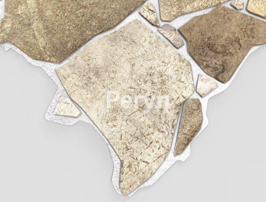 Панели ПВХ: Камень Дикий бежевый в Мир Потолков