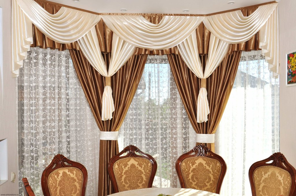 Портьерные ткани, шторы: Пошив штор в Дизайн-студия Эльф-Декор