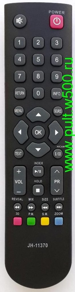 AIWA: Пульт AIWA JH-11370 erisson, irbis, supra (LCD 3D 24LE6010, 19LE6010) HUAYU в A-Центр Пульты ДУ