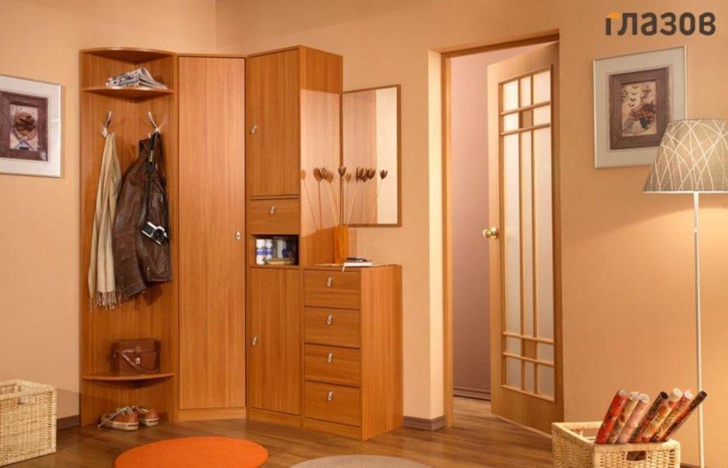 Комфорт. Композиция 1 (Венге, Вишня, Бук): Мебель для прихожей Комфорт. Композиция 1 (Бук, Вишня, Венге) в Стильная мебель