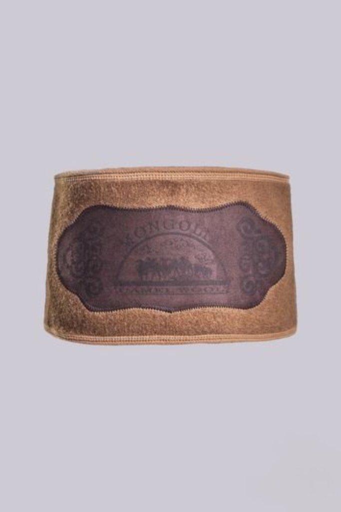 Лечебные пояса, жилеты, наколенники: Пояс из верблюжьей шерсти валяный на липучке в Сельский магазин