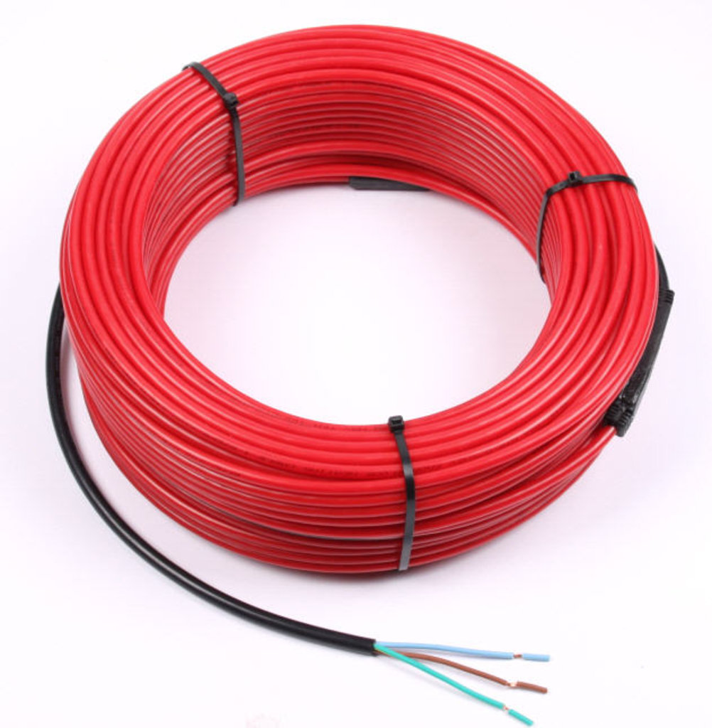 ТЕПЛОКАБЕЛЬ двужильный экранированный греющий кабель (Россия): кабель ТКД-350 в Теплолюкс-К, инженерная компания