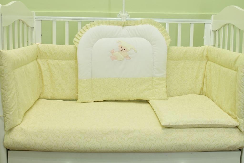 Комплекты в кроватку: Комплект в кроватку для новорожденного из 6 предметов в Детский универмаг