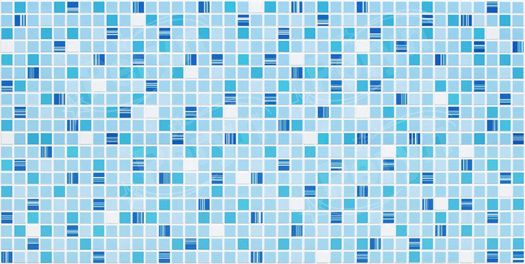 Панели ПВХ: Мозаика Кофе синий в Мир Потолков
