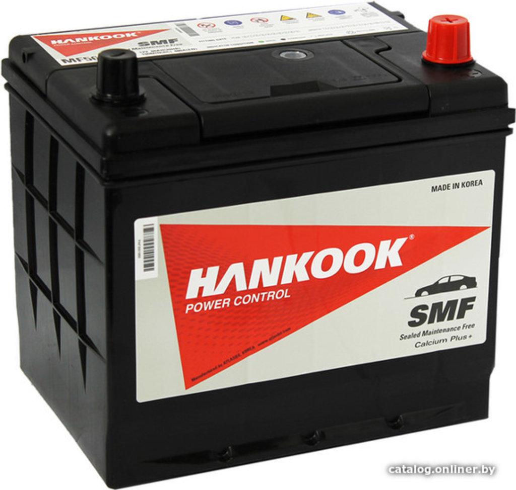 HANKOOK: Аккумулятор HANKOOK 6 СТ- 60 в БазаАКБ