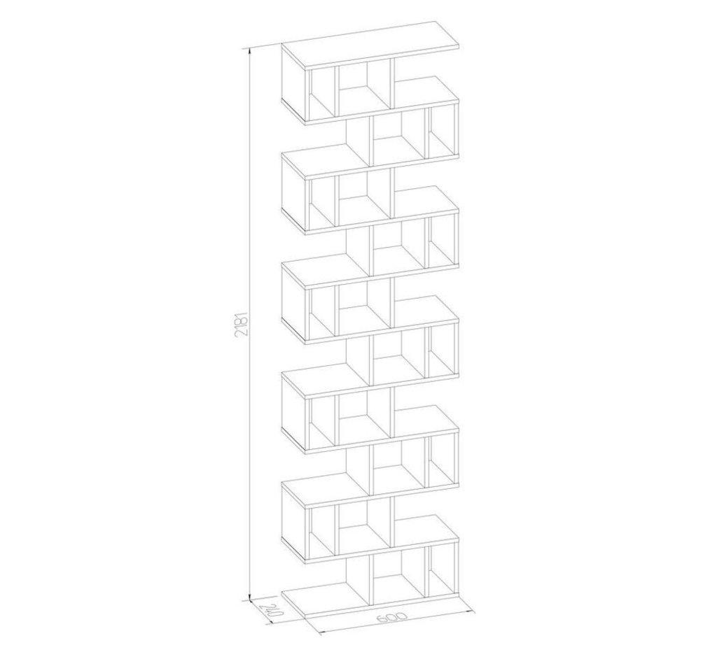 Стеллажи, общее: Стеллаж Румер макси в Стильная мебель