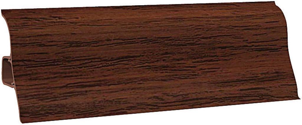 Плинтуса напольные: Плинтус напольный Ecoline 130 махагон темный в Мир Потолков