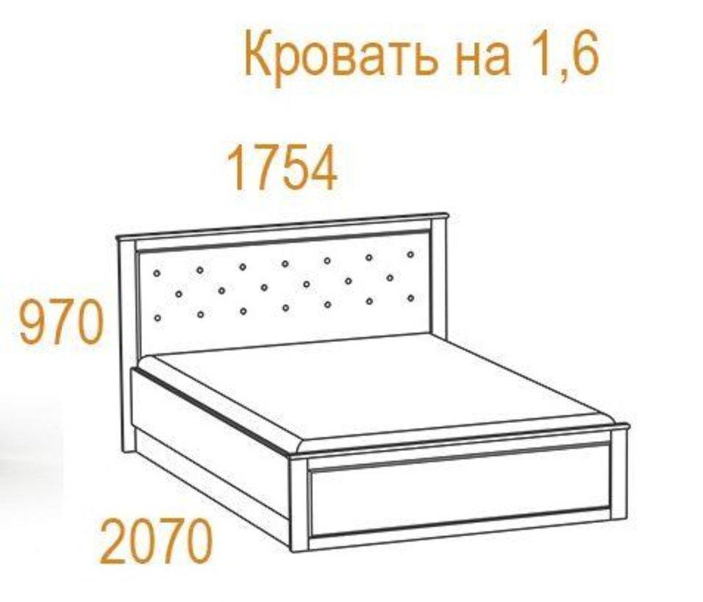 Кровати: Кровать Инфинити (1600, мех. подъема) в Стильная мебель