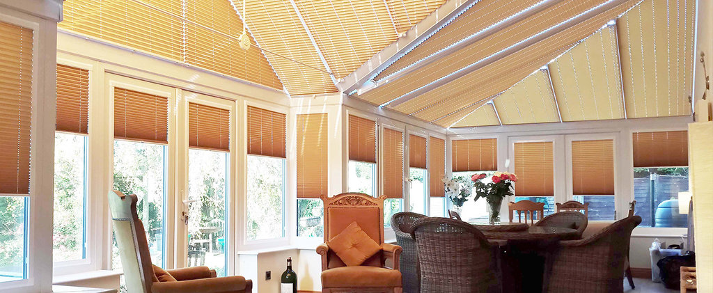 Шторы плиссе: Неподвижные формы шторы плиссе на вертикальные окна (до 15°) в Салон штор, Виссон
