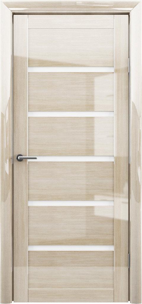 Двери Альберо: Вена Глянец белый мателюкс в Салон дверей Доминго Ноябрьск