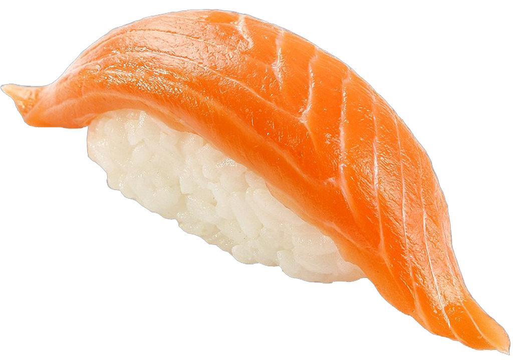 Суши: Суши с лососем в Tokio