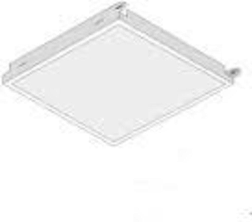 Кассетные металлические потолки: Кассета AP600*1200AC/90° белая оцинковка 9003 в Мир Потолков