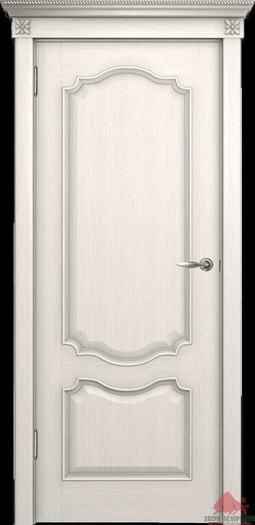 Двери Белоруссии  шпонированые: Престиж (белый ясень) в STEKLOMASTER