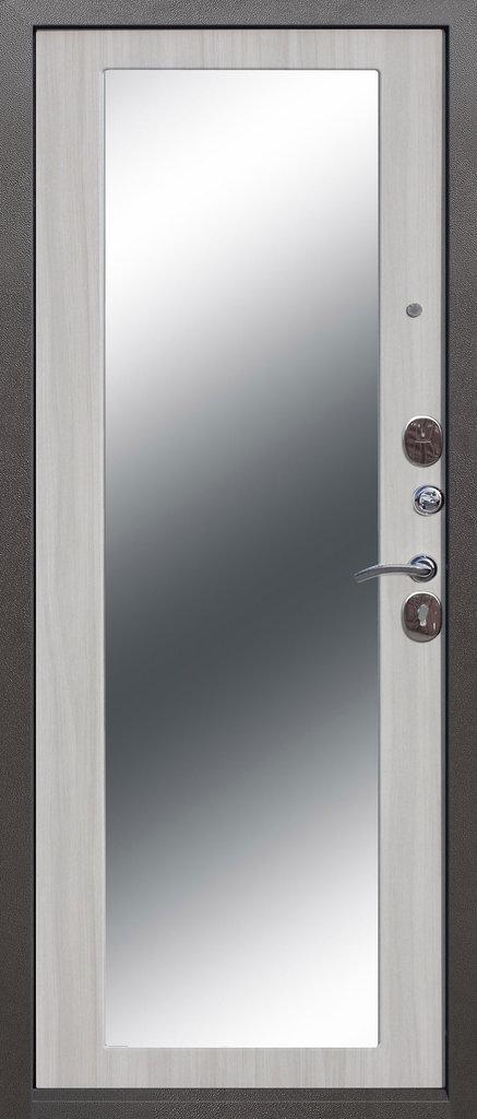 Входные двери (премиум)  от 90-110мм: Входная дверь  Троя серебро maxi в Пластиковые окна в Сургуте STEKLOMASTER