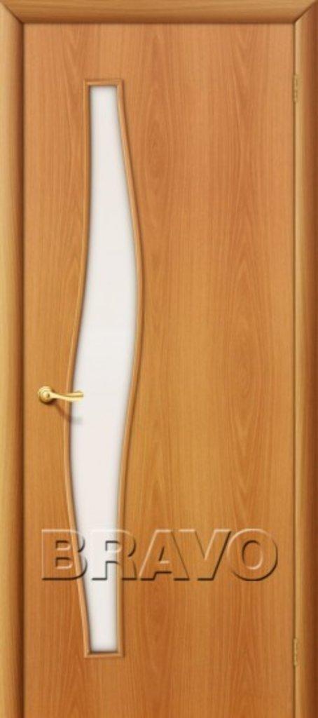 Двери ламинированные BRAVO: 6С Л-12 (МиланОрех) в STEKLOMASTER