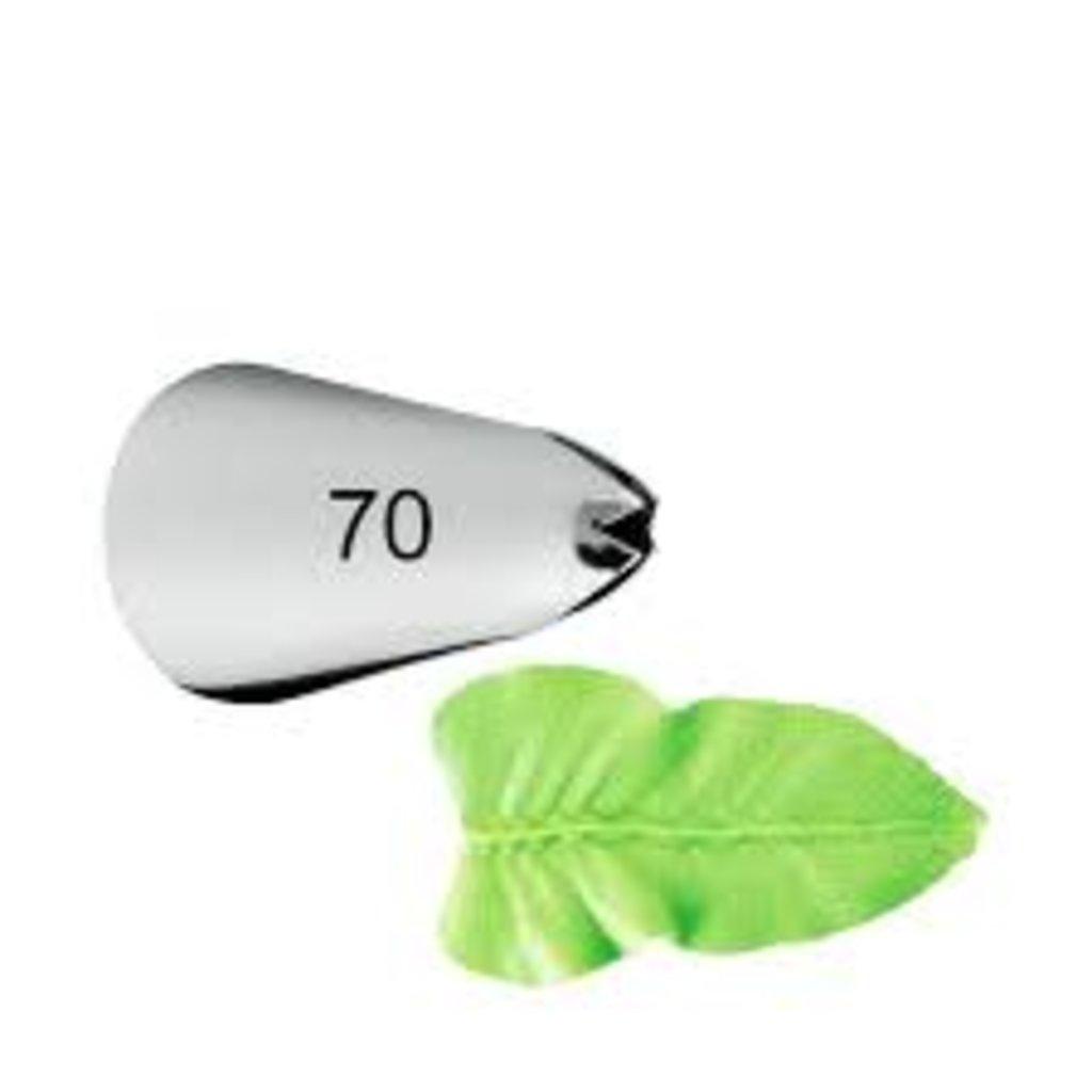 Кондитерские насадки: Насадка 70 листик d=11х19 h=33 в ТортExpress