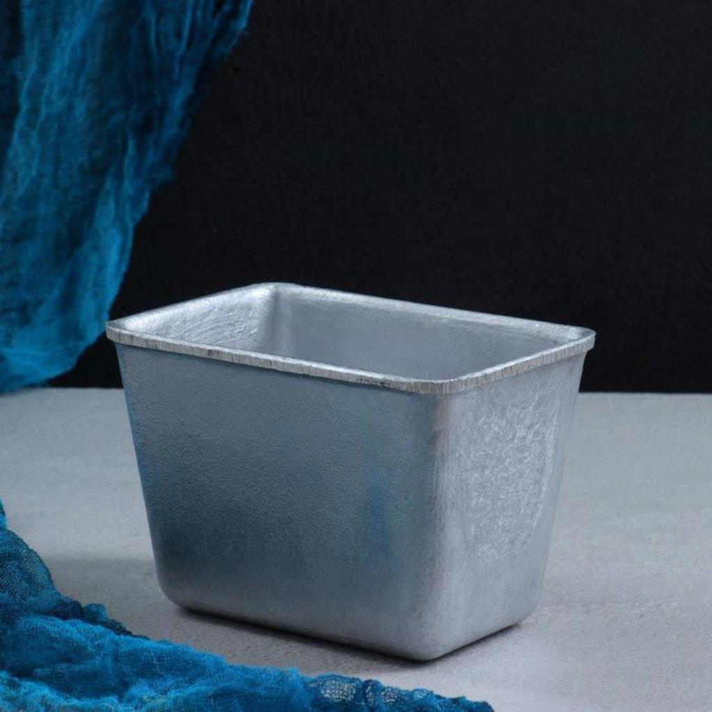 Металлические и разъёмные формы для выпечки: Форма для выпечки Хлеб 14,5х10х10см в ТортExpress