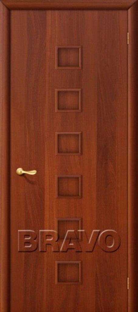 Двери ламинированные BRAVO: 1Г Л-11 (ИталОрех) в STEKLOMASTER