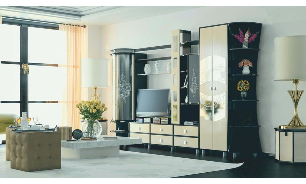 Модульная гостиная Палермо: Шкаф ШР-2 Палермо (платье) в Уютный дом