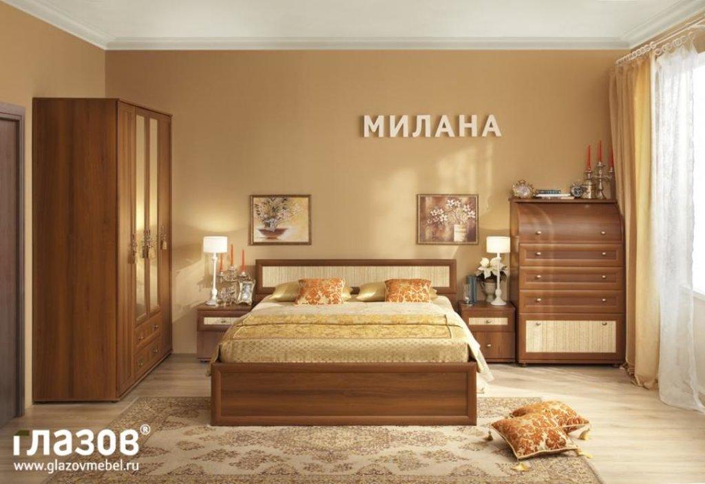 Модульная мебель в спальню Милана: Модульная мебель в спальню Милана в Стильная мебель