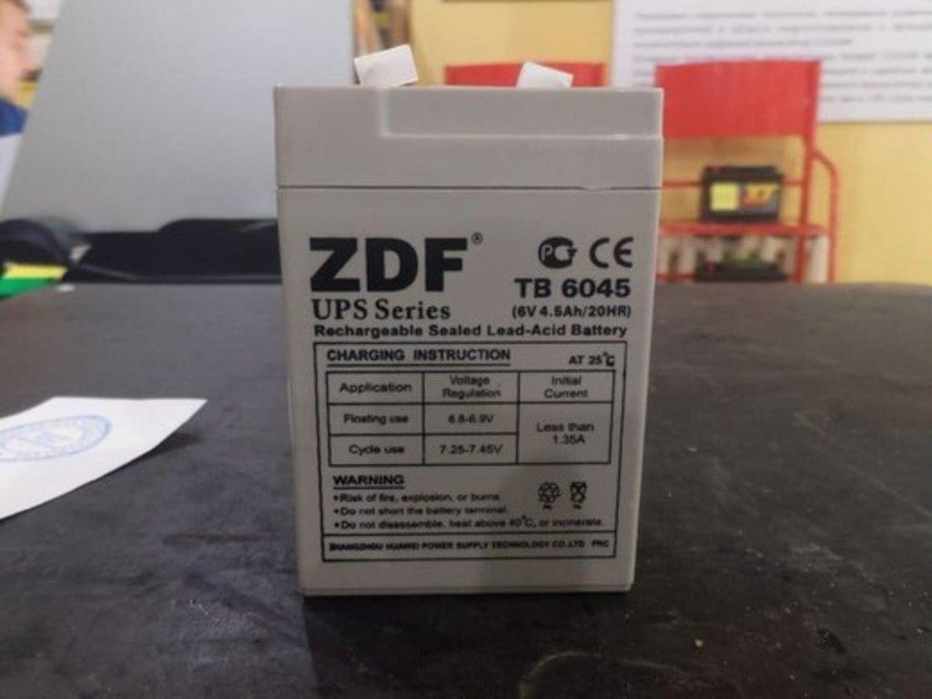 ZDF: ZDF TB- 6045 в БазаАКБ