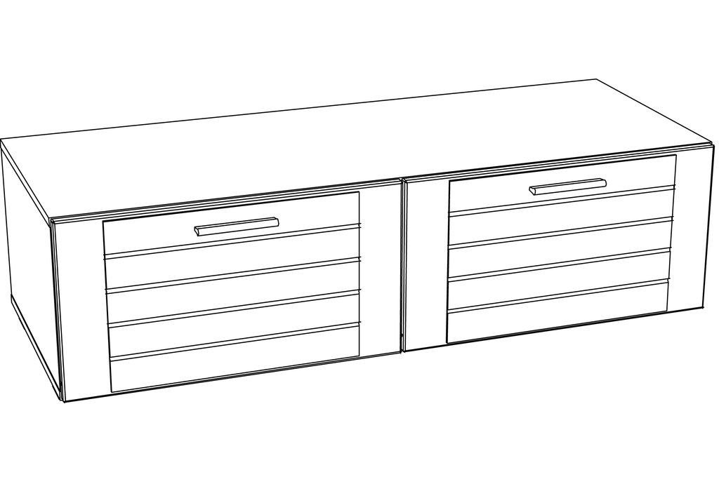 Тумбы и стойки под телевизор и аппаратуру: Тумба ТВА LIVORNO НМ 011.34 в Стильная мебель