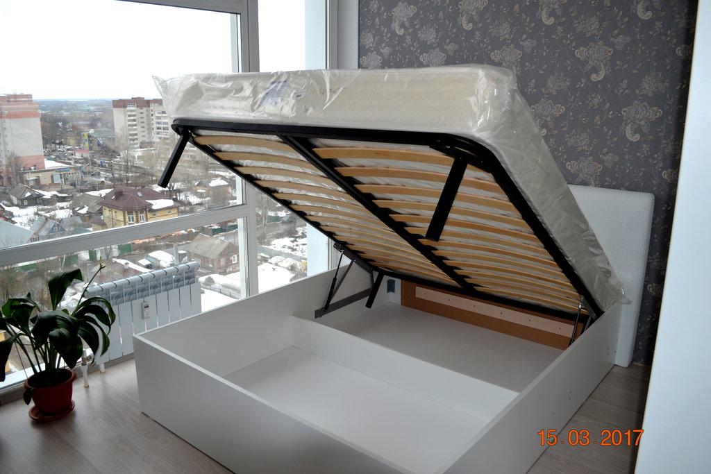 Мебель: Кровать с подъемным механизмом в Изготовление корпусной мебели, МебельНИК
