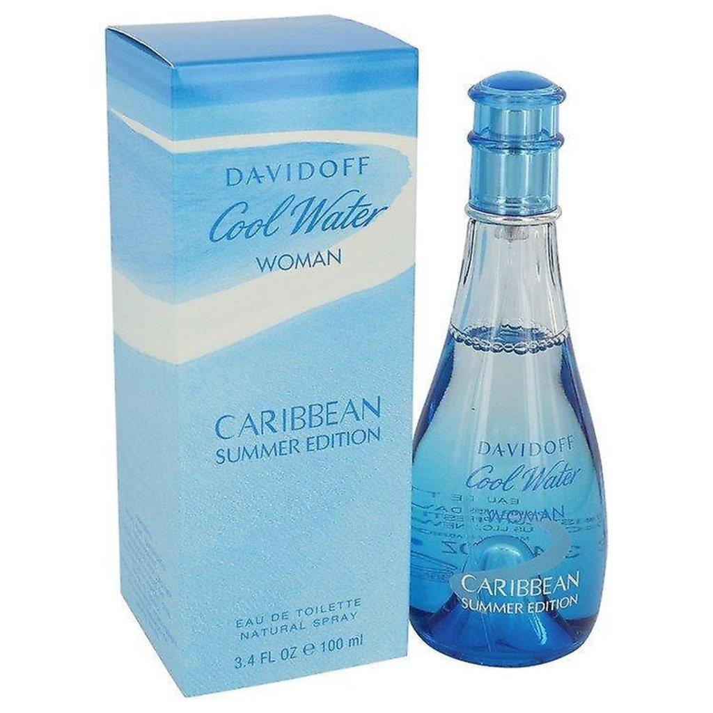 Женская парфюмерная вода Davidoff: Davidoff Cool Water Caribbean Sammer Туалетная вода жен 100ml в Элит-парфюм
