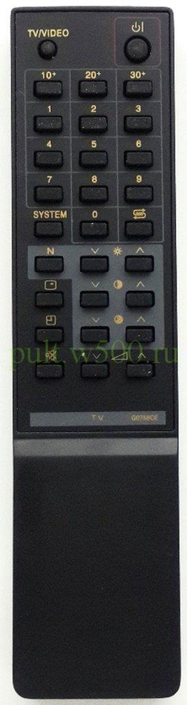 SHARP: Пульт SHARP G0756CE разд.рег.(TV) GS в A-Центр Пульты ДУ