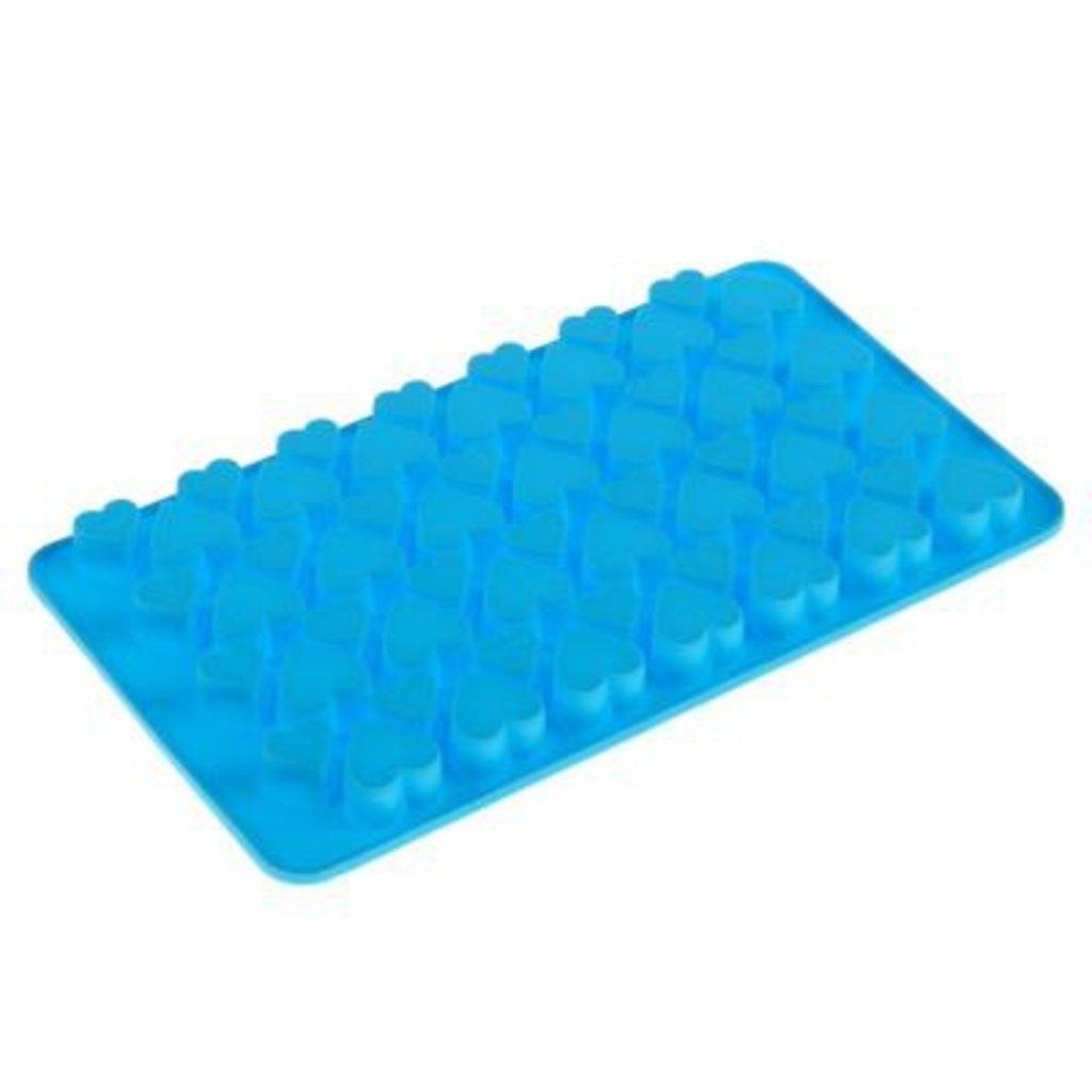 Силиконовые формы для льда, шоколада и мармелада: Силиконовая форма для шоколада Сердечки в ТортExpress