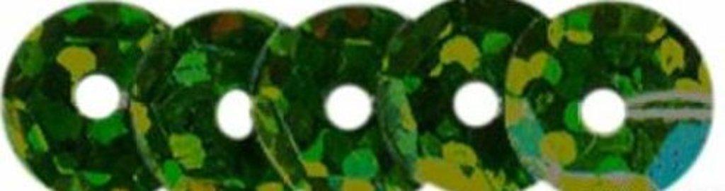 Граненые 6мм.: Пайетки граненые 6мм.,упак/10гр.Астра(цвет:50104 зеленый голограмма) в Редиант-НК