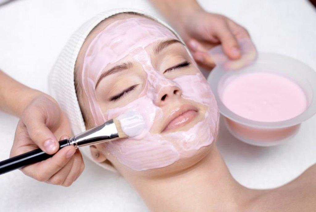 Маски для кожи лица: Маска альгинатная Algomask (Франция) в Амалуна, медицинский центр