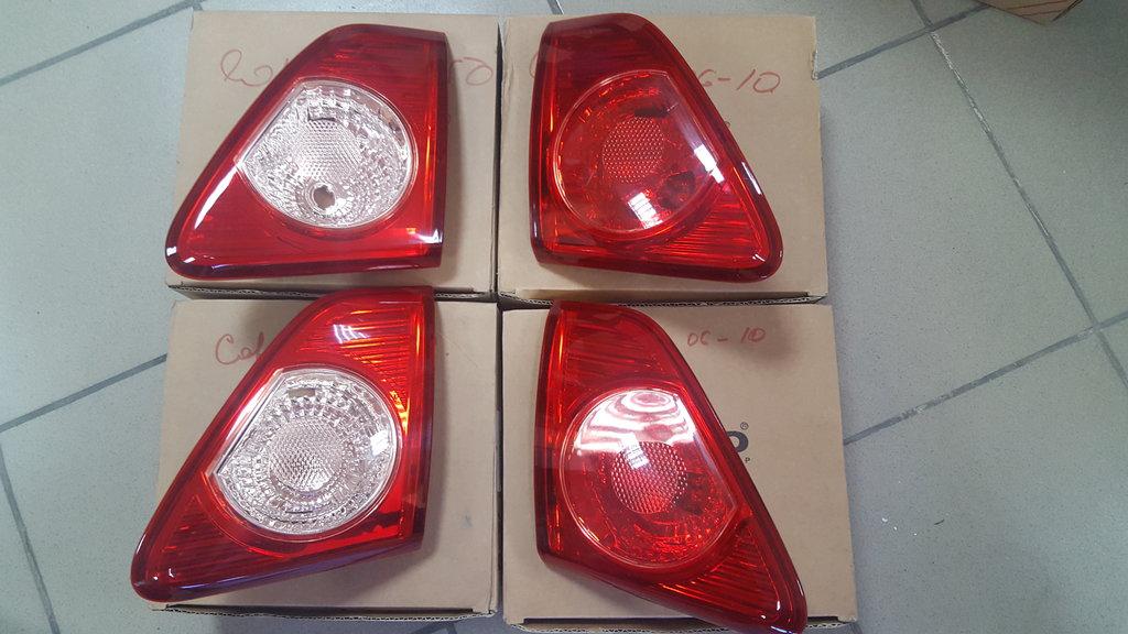 Оптика: Фонарь задний левый / правый  TOYOTA Corolla 150 в VINcode
