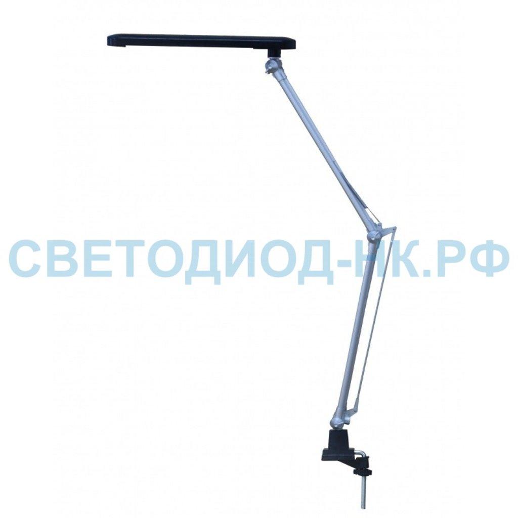 Настольные лампы, ночники: Светодиодная настольная лампа Smartbuy SBL-DL-7-NWFix-Silver в СВЕТОВОД