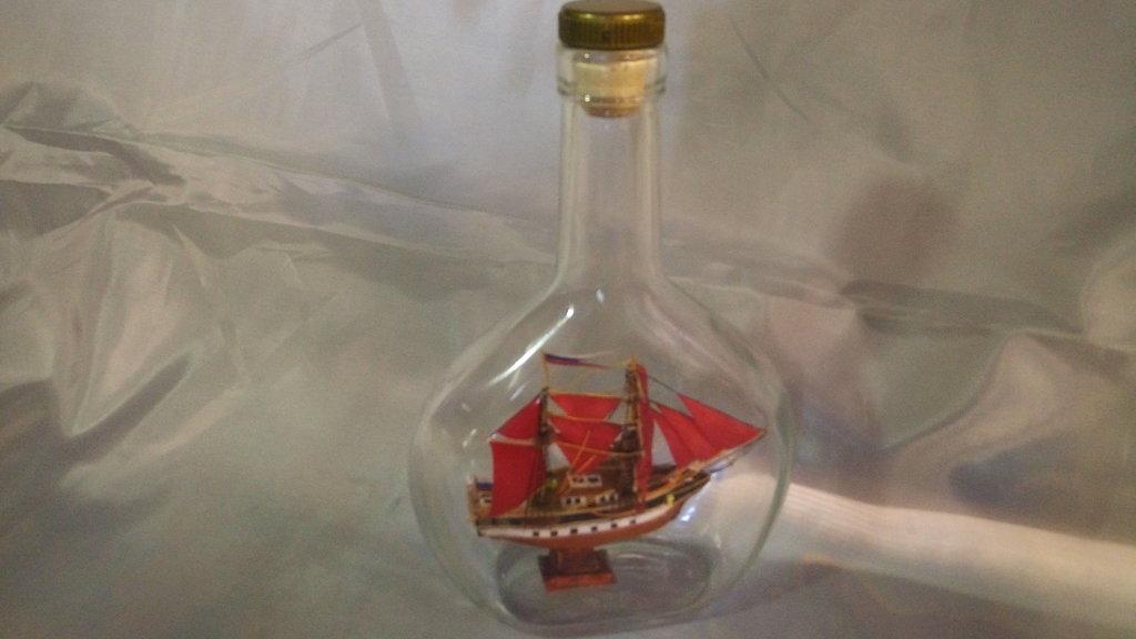 Модели кораблей: Бригантина с алыми парусами №1 в Модели кораблей