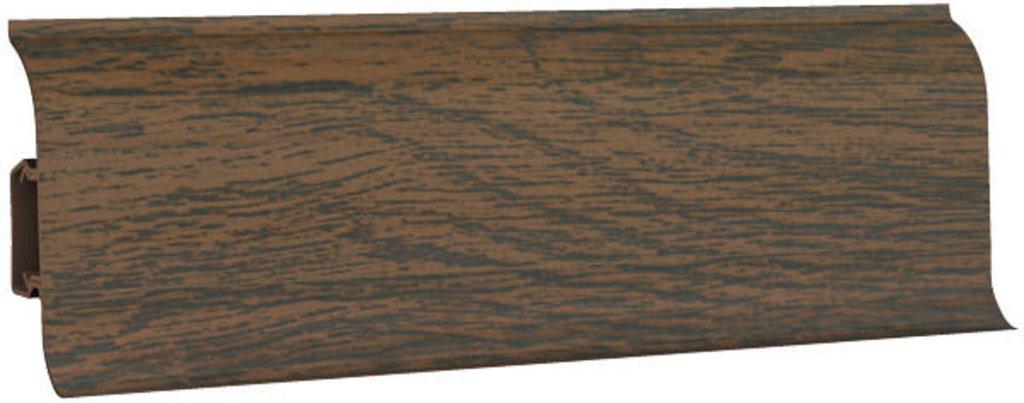 Плинтуса напольные: Плинтус напольный 60 ДП МК полуматовый 6063 дуб бурже в Мир Потолков