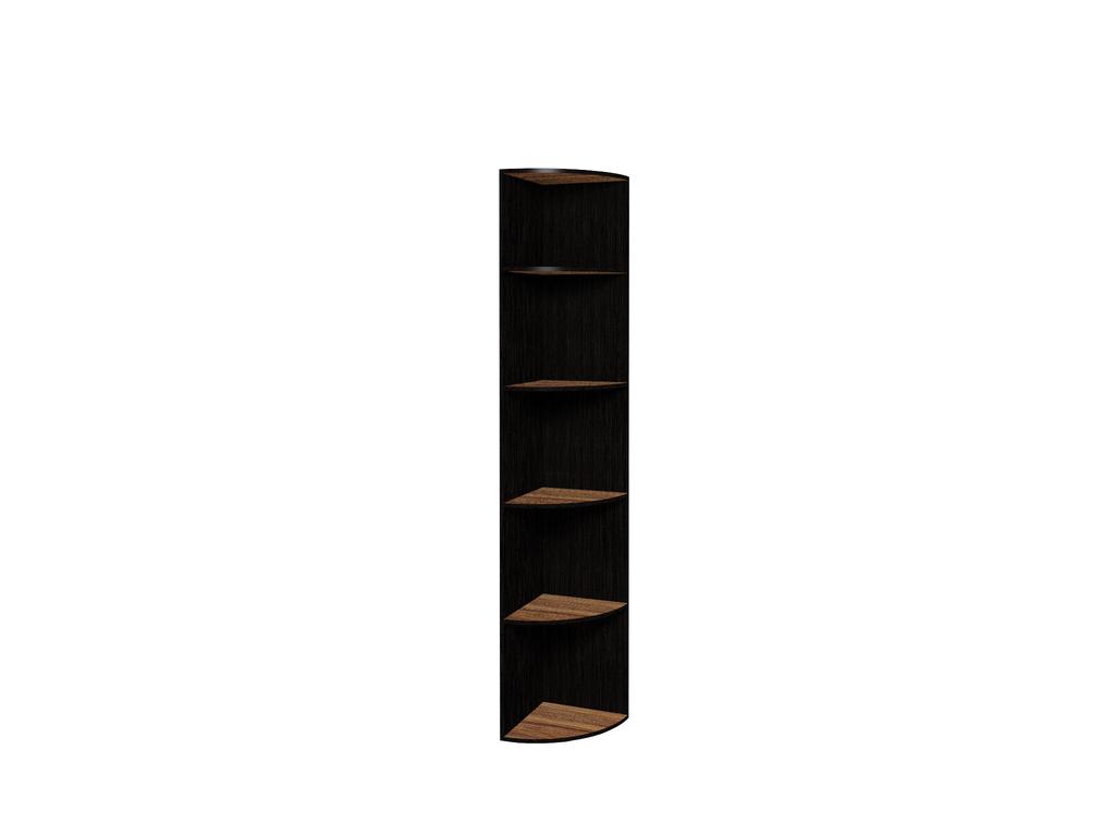 Книжные шкафы и полки: Полка угловая 1 Hyper в Стильная мебель