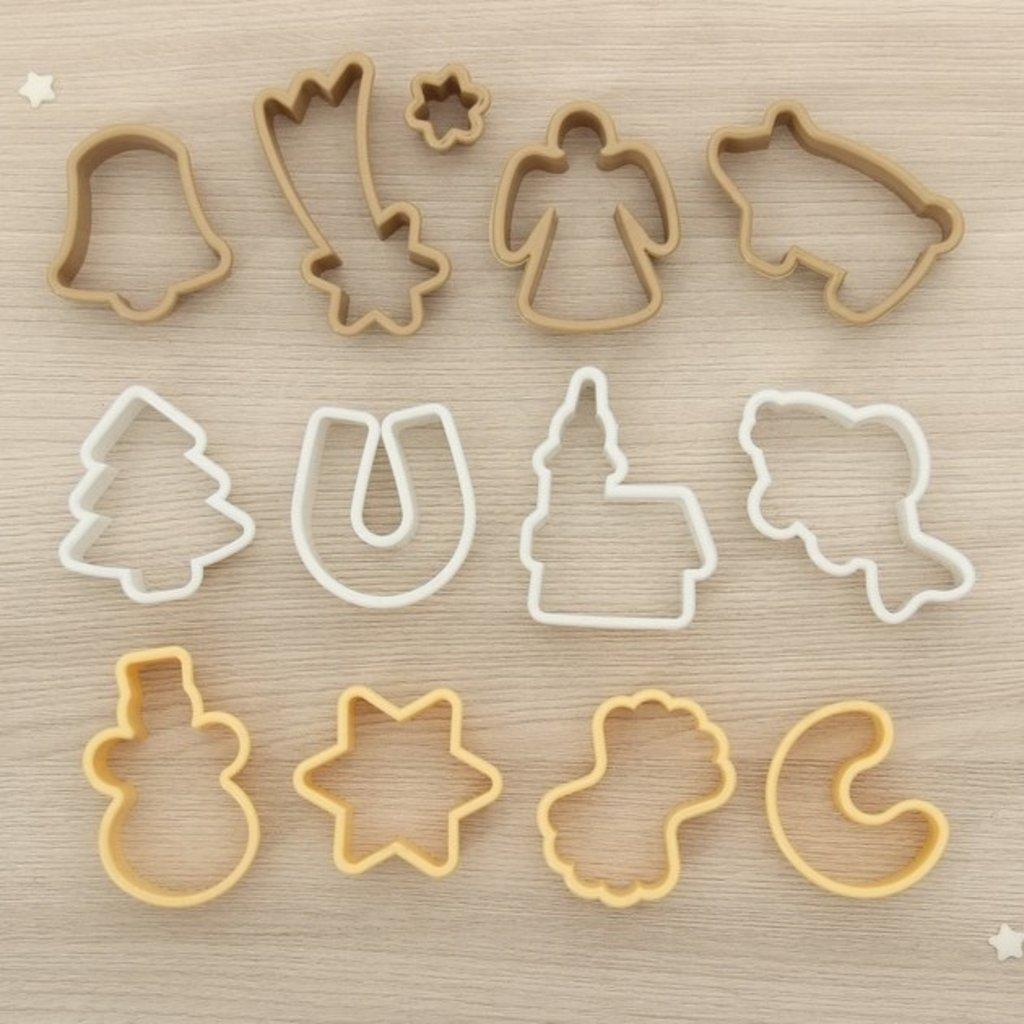 """Вырубки: Набор форм для печенья """"Новый год, рыбка, свинка"""", 12 шт в ТортExpress"""