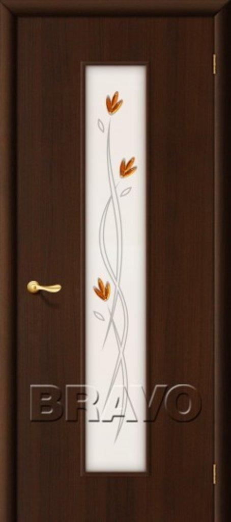 Двери ламинированные BRAVO: 22Х Л-13 (Венге) в STEKLOMASTER