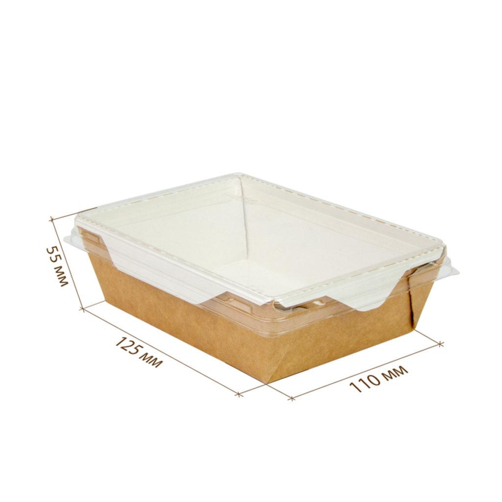 Коробки для кондитерских изделий: Упаковка   OpSalad-350 мл 12,5*11*5,5 см в ТортExpress