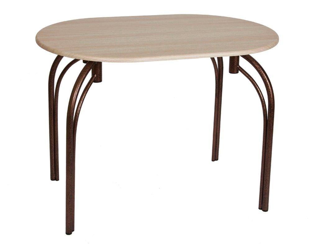 Столы кухонные: Стол СМ (металлик, бронза) в АРТ-МЕБЕЛЬ НН
